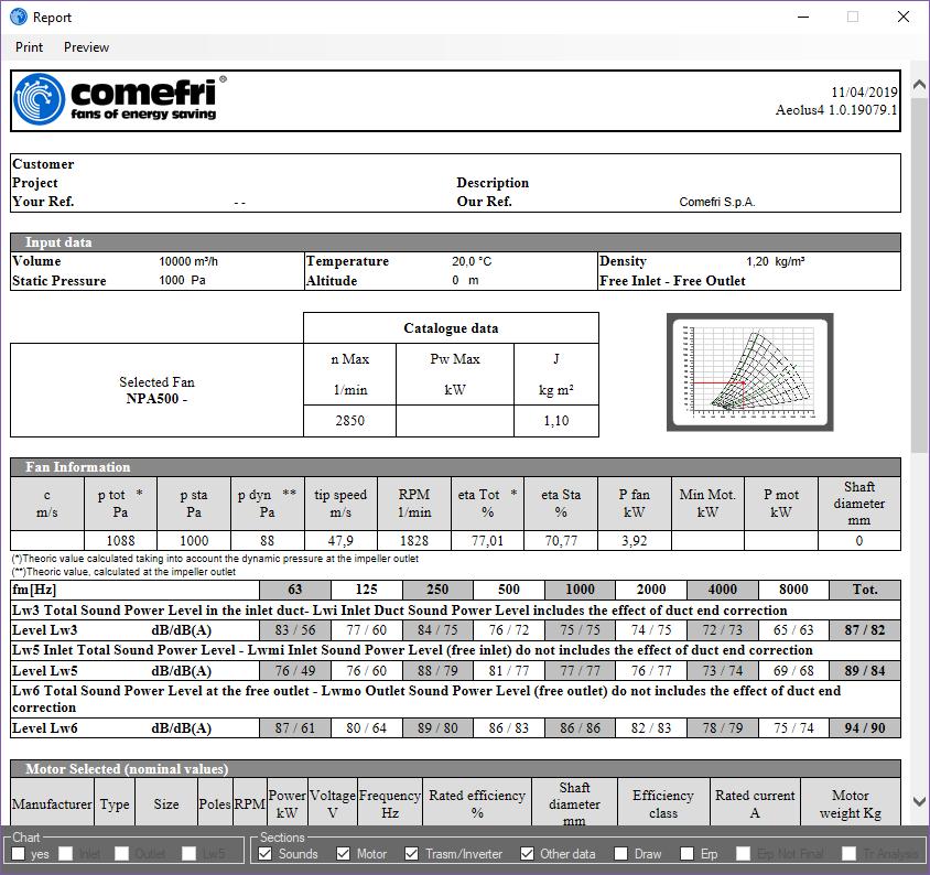 Comefri - Software