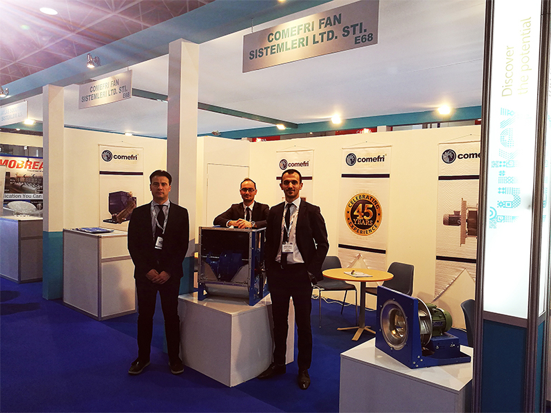 Stand at HVAC R Expo Saudi